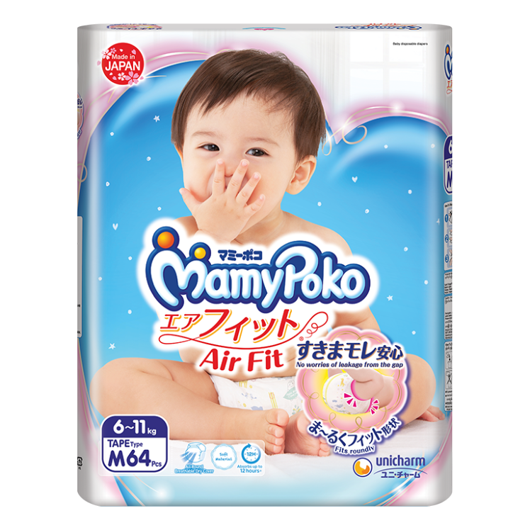 MamyPoko Air Fit Tape Diaper / M