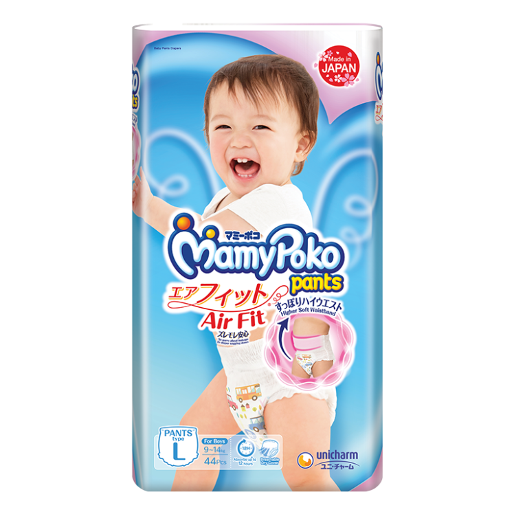 MamyPoko Pants Air Fit Diaper / L / Boy