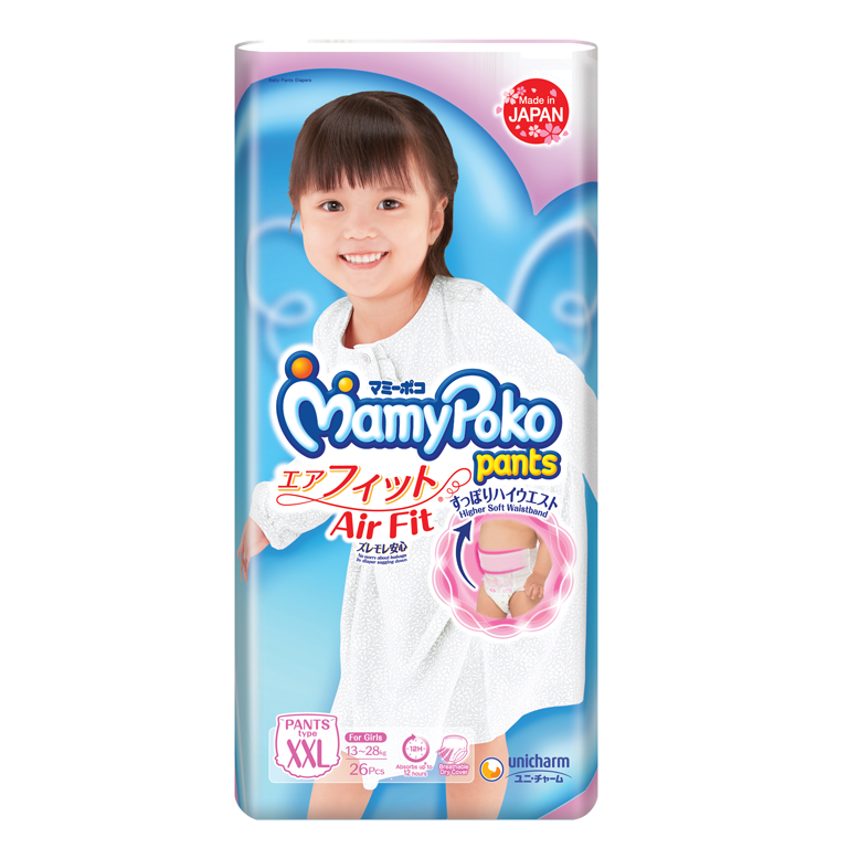 MamyPoko Pants Air Fit XL Girl
