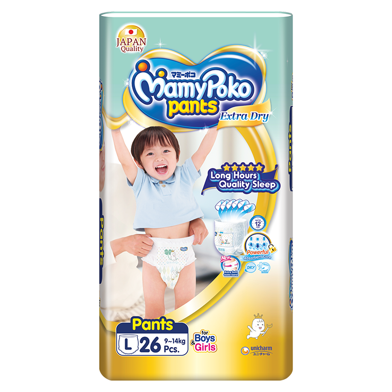 MamyPoko Pants Extra Dry Skin (L