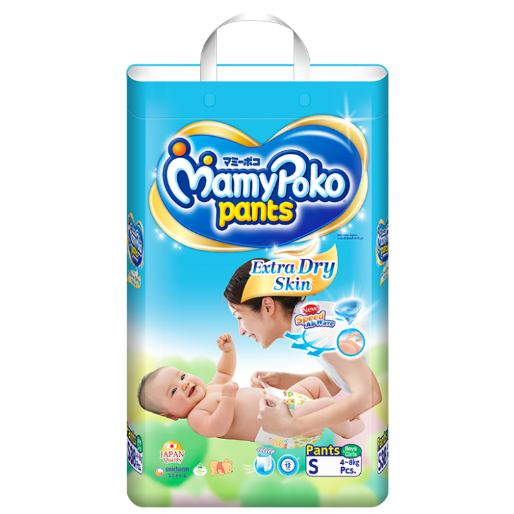 MamyPoko Tape Extra Dry Skin / Size S